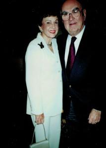 Miriam Groman and Josh Kheel